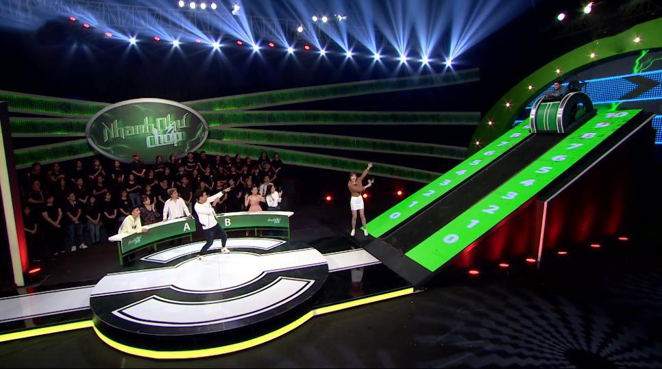Hari Won phấn khích vì Quang Đại quá xuất sắc ở 'Nhanh như chớp'