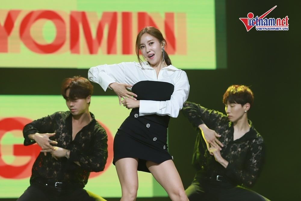 Hyomin thả thính lấy lòng fan và bày tỏ muốn mua nhà ở Việt Nam