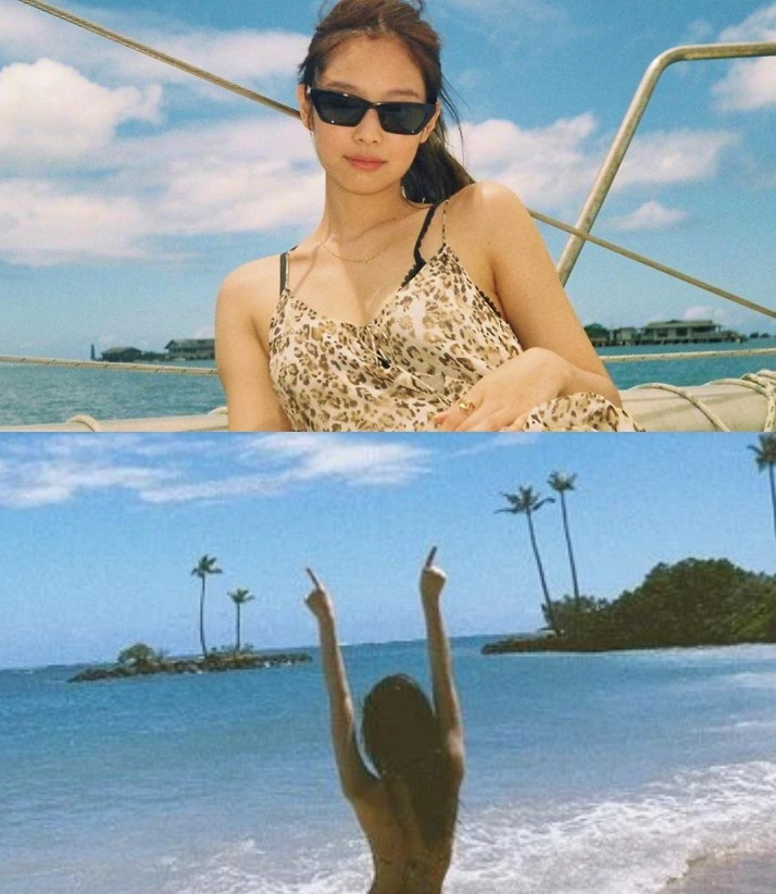 Jennie (BLACKPINK) quyến rũ với bikini gợi cảm