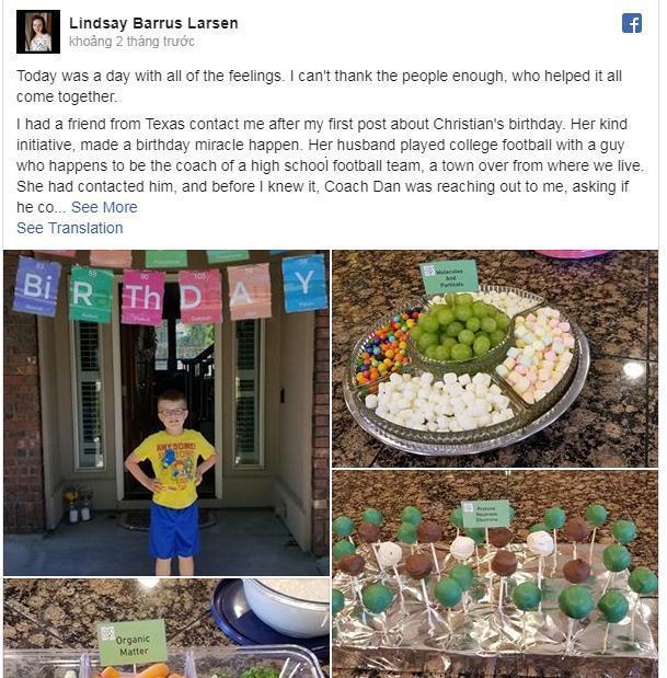 Sinh nhật chỉ có 1/25 bạn cùng lớp tới dự, cậu bé tự kỷ nhận được quà bất ngờ