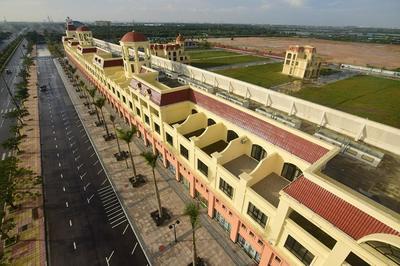 Bên trong khu đô thị có trung tâm cờ bạc của người Trung Quốc ở Hải Phòng