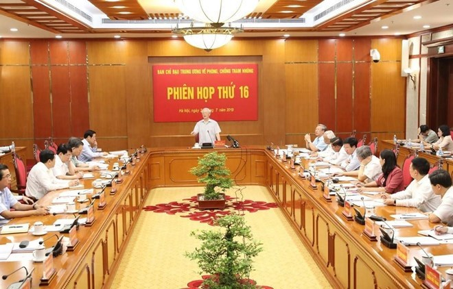 Anti-corruption requires tireless efforts: top leader