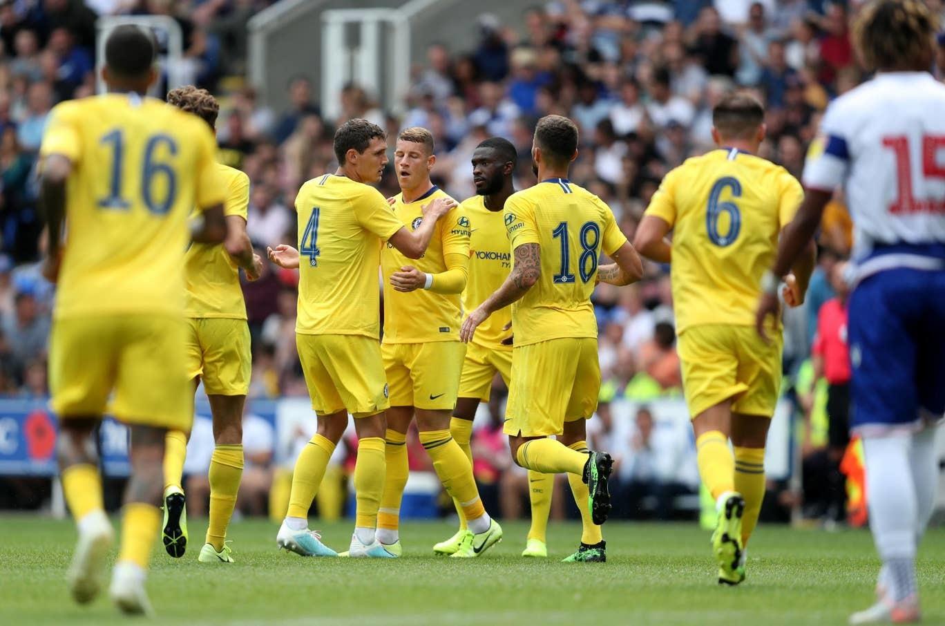 Lampard truyền cảm hứng, Chelseadội'cơn mưa gôn'