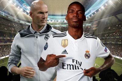 Chiêu mộ Pogba, Zidane tham vọng hồi sinh Real Madrid