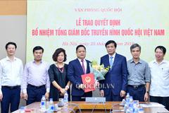 Ông Vũ Minh Tuấn làm Tổng giám đốc Truyền hình Quốc hội