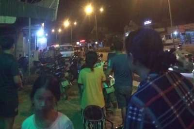 2 nhóm thanh niên bịt mặt hỗn chiến ở Thanh Hóa, 1 người chết