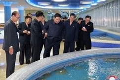 Nhà hàng hải sản 'siêu to' ở Triều Tiên, đích thân Kim đến dùng bữa