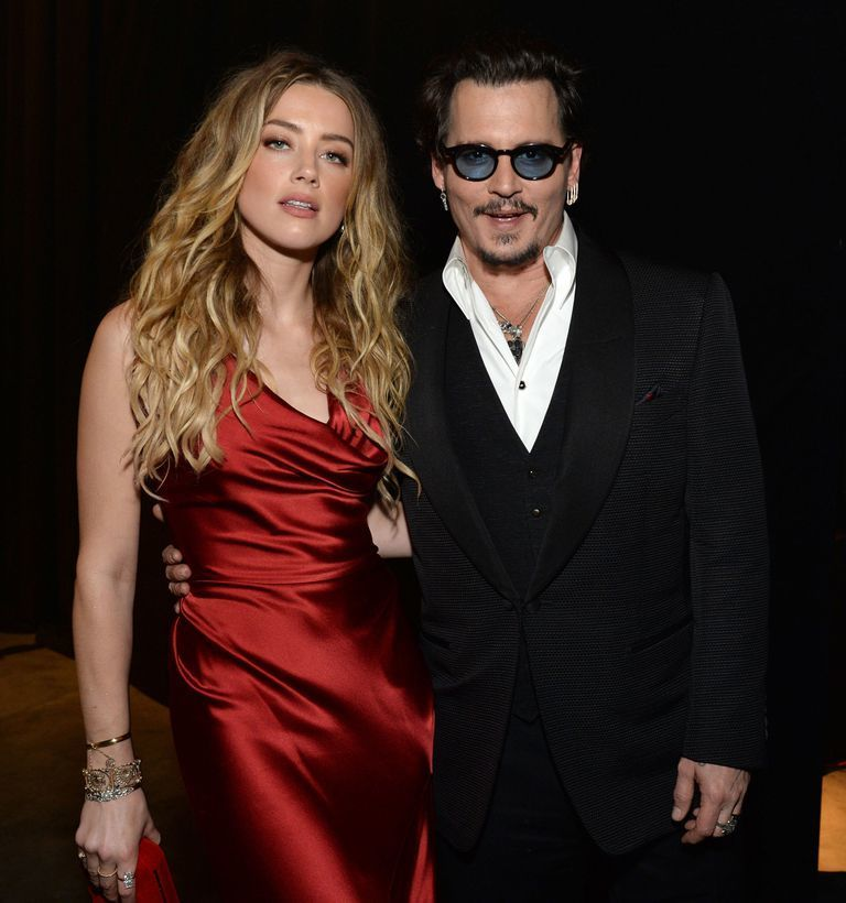 Amber Heard xinh đẹp gợi cảm mặc Johnny Depp tố bạo hành