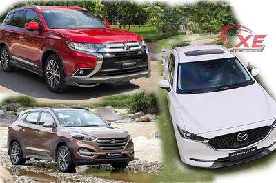 Gần 1 tỷ, chọn Mazda CX-5 mới hay Hyundai Tucson, Mitsubishi Outlander?