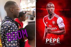 Arsenal phát sốt khi Nicolas Pepe bay đến London