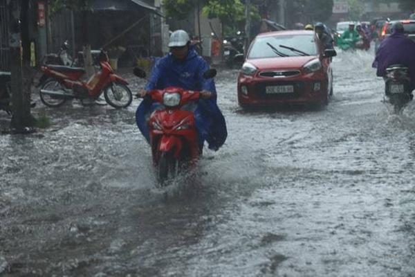 Thời tiết 3 ngày tới, Hà Nội chiều tối mưa dông gió giật