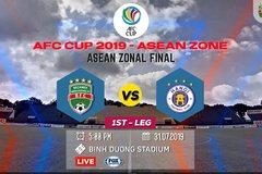 Xem trực tiếp chung kết AFC Cup Bình Dương vs Hà Nội ở đâu?