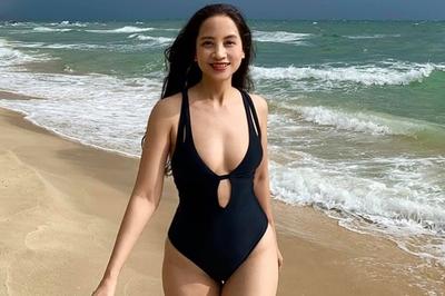 Sau 18 năm, Thảo 'Phía trước là bầu trời' lột xác, diện bikini gợi cảm