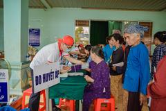 Vedan Việt Nam: khám bệnh, phát thuốc miễn phí cho 16.000 người nghèo Đồng Nai