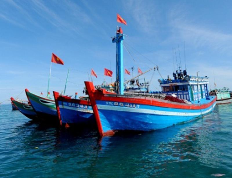 Phản đối nhóm tàu Trung Quốc cản trở ngư dân Việt trên Biển Đông