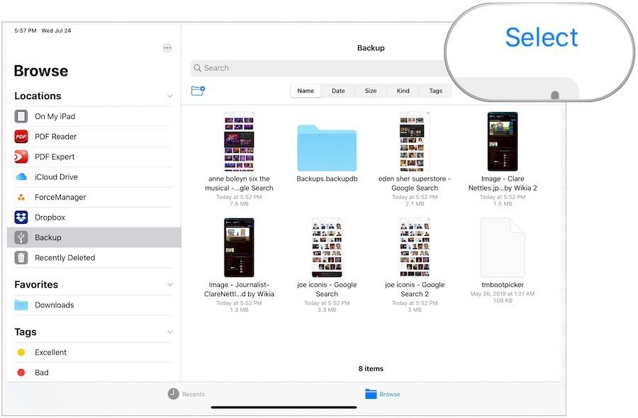 Cách sử dụng ổ cứng gắn ngoài trên iPhone chạy iOS 13