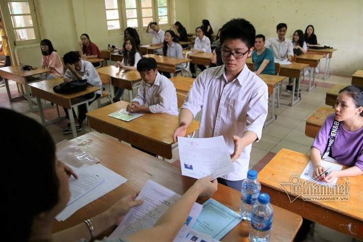 14 trong 309 bài thisau phúc khảo ở Nam Định được tăng điểm