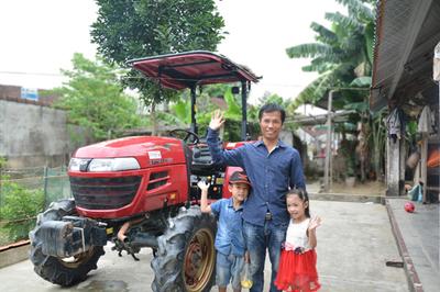 Nhiều nông dân chọn 'lên đời' với dòng máy kéo Yanmar