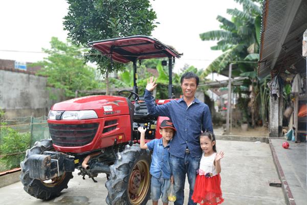 máy kéo,nông dân