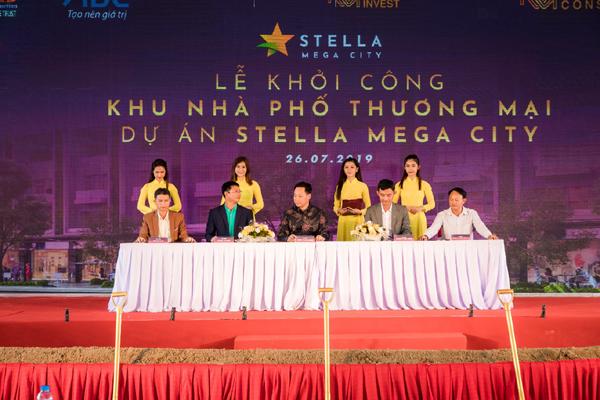 Khởi công khu nhà phố thương mại dự án Stella Mega City