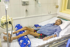 Phổi cậu bé 15 tuổi mọc nấm, cơ thể còn da bọc xương