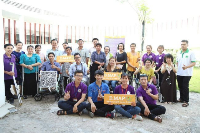 5,000 locations in Vietnam enlisted in online map for disabled people