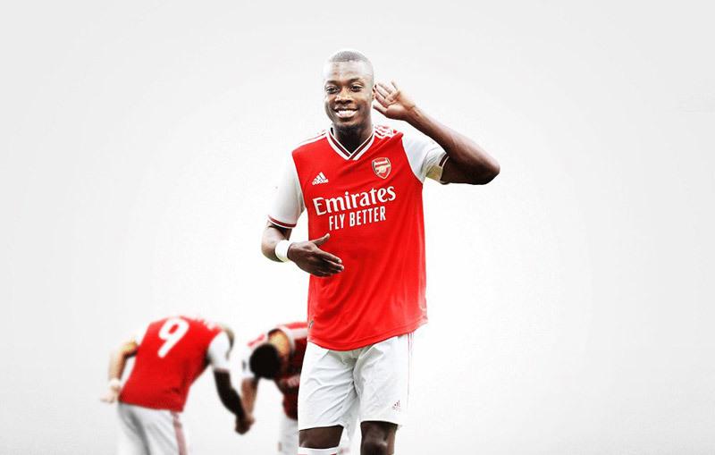 Pepe có mặt ở London kiểm tra y tế với Arsenal