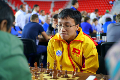 Son wins while Liem held to draw at Hunan International Chess Open