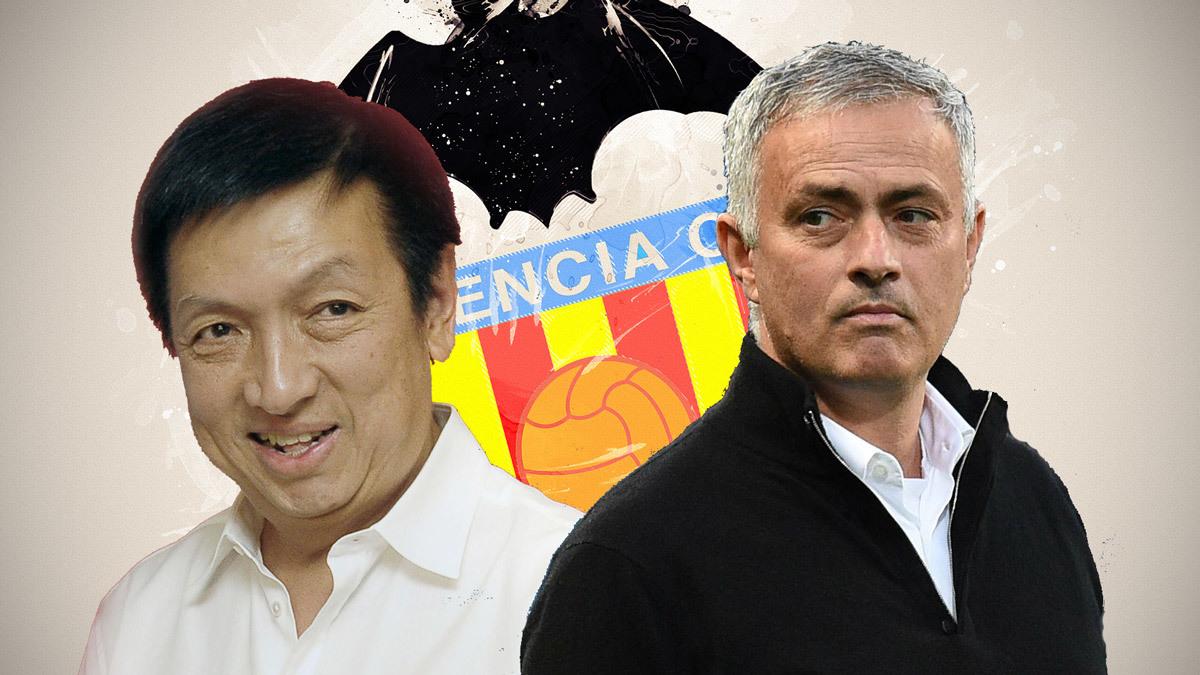 Valencia,Jorge Mendes,Jose Mourinho,Mourinho