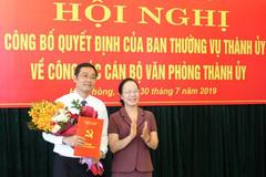 Nhân sự mới Hải Phòng, Ninh Bình, Sơn La