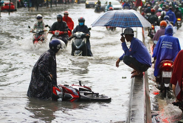 In HCM City, the highest area is the most flooded