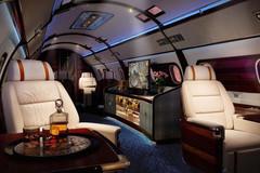 Bên trong chiếc máy bay tư nhân chỉ giới siêu giàu mới đi nổi