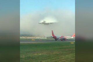 Video máy bay đột ngột xuất hiện kỳ bí giữa trời