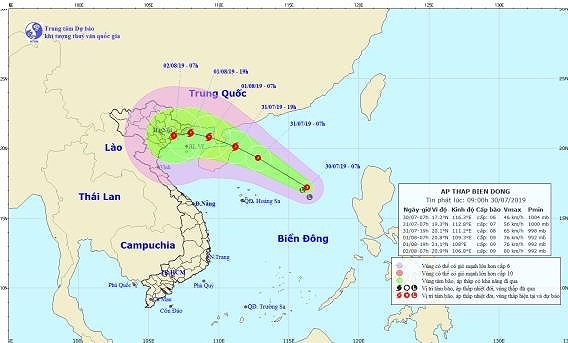 Heavy rains forecasted for northern Vietnam