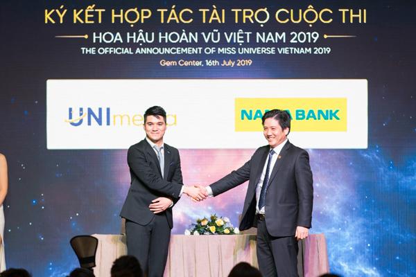 Nam A Bank đồng hành cùng Hoa hậu hoàn vũ Việt Nam 2019