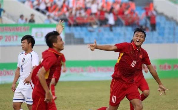 Vietnam win first match at regional U15 tournament