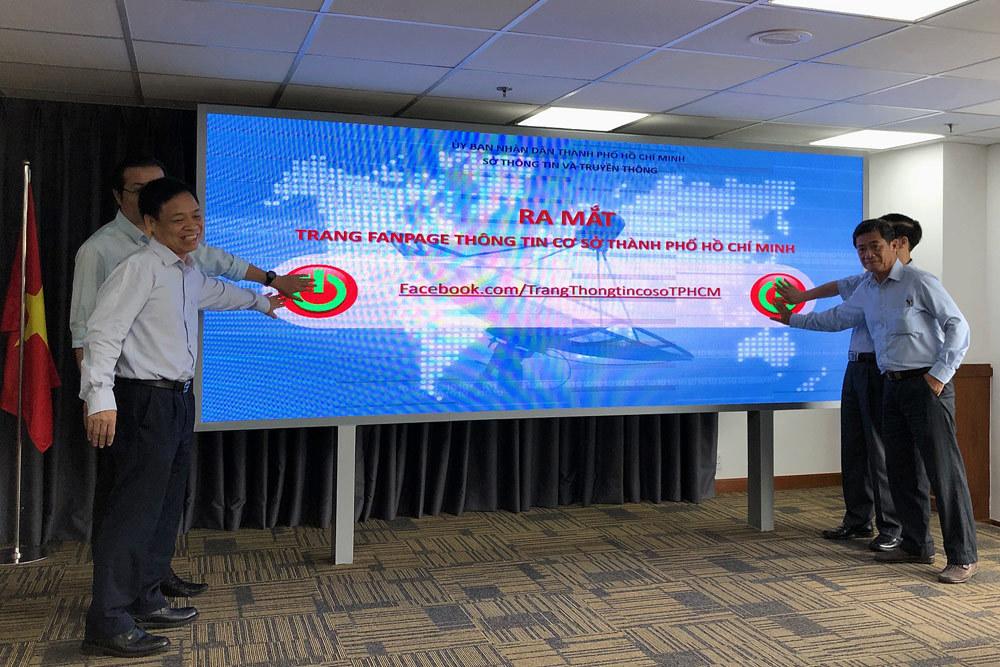 Sở Thông Tin và Truyền Thông,Thành phố Hồ Chí Minh,Fanpage,Facebook