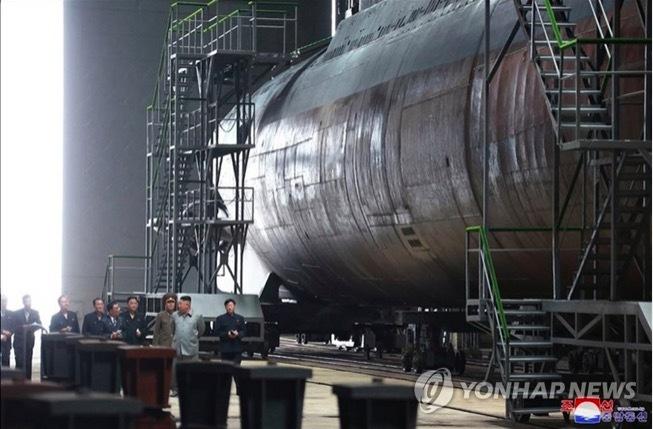 tàu ngầm,tàu ngầm Triều Tiên,khả năng,tên lửa đạn đạo