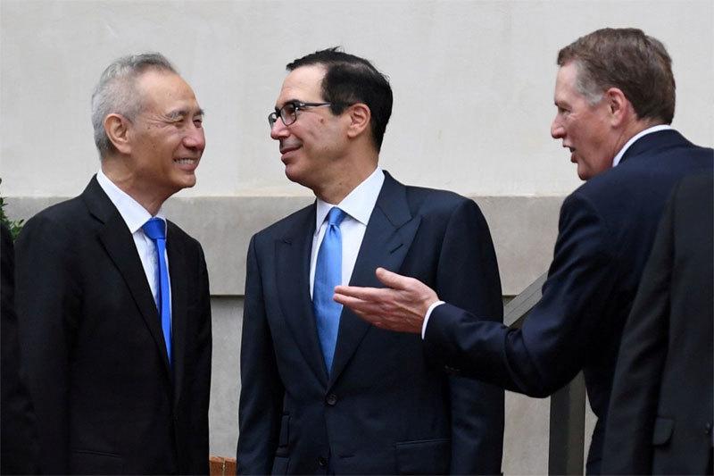 Mỹ,Trung Quốc,thương chiến,thuế quan,đàm phán thương mại