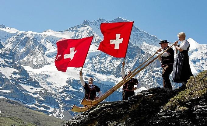 Thụy Sĩ,Du lịch Thụy Sĩ