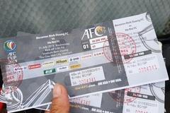 Mua vé chợ đen xem chung kết AFC Cup, fan Bình Dương hụt hẫng ra về