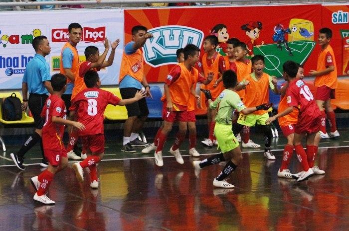 SLNA và Hà Nội tranh ngôi vô địch U11 toàn quốc