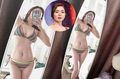 U40, Lệ Quyên táo bạo diện bikini khoe thân hình nóng bỏng