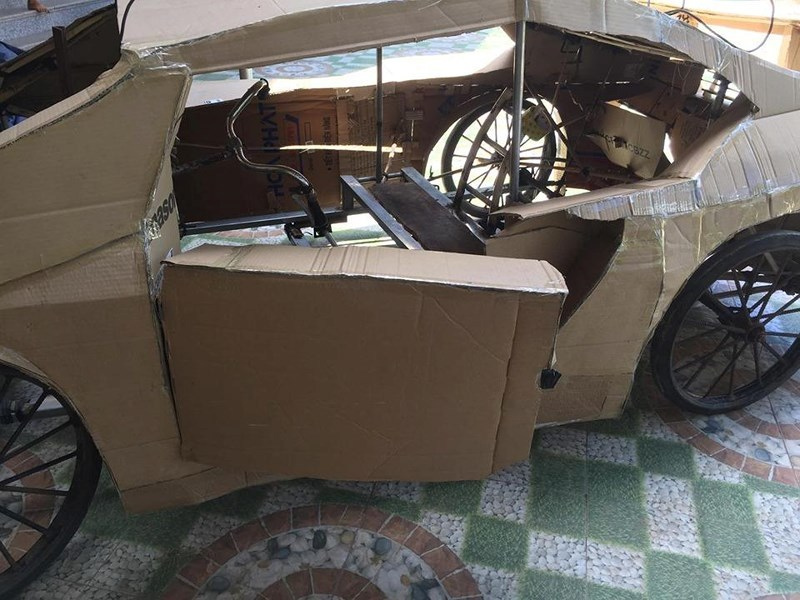 Lamborghini,siêu xe,xe tự chế,xe gỗ