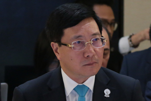 East Sea,UNCLOS,Deputy PM and Minister of Foreign Affairs Pham Bin,vietnam sovereignty,vietnam sea,china violation in east sea,Haiyang Dizhi 8,ASEAN-China Foreign Ministers' Meeting,AMM-52,Vietnam politics news