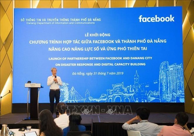 Da Nang,Facebook join hands in disaster response,Facebook,Vietnam ICT Index,disaster response capability,social news,english news,Vietnam news