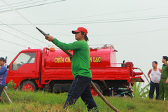 An Giang residents make modified fire trucks to stamp out blazes