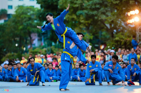 Traditional martial arts to be performed in Hanoi next week