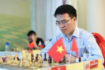 Vietnam's top players held to draws at Hunan International Chess Open