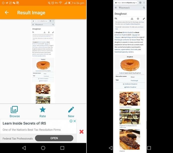 Cách chụp ảnh toàn bộ trang web trên Android tương tự iOS 13